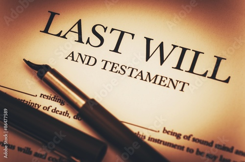 Fotografía  Last Will and Testament