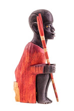 Kenya Warrior Figurine