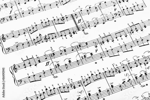 Music sheet