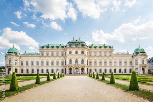 The Belvedere Palace, Vienna, Austria