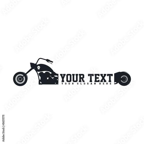Fotografia, Obraz  chopper motorcycle