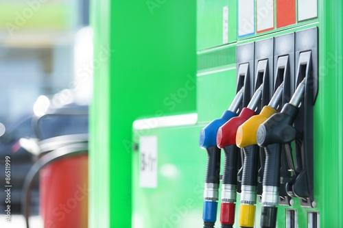 Fotografie, Obraz  Palivového čerpadla, čerpací stanice, Benzín.