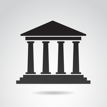 Ancient, Greek Temple. Vector ...