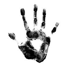 Human Hand Print