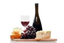 Wine, Cheese, Grape.
