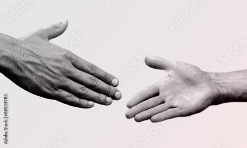 Foto Help, hand, partnership.