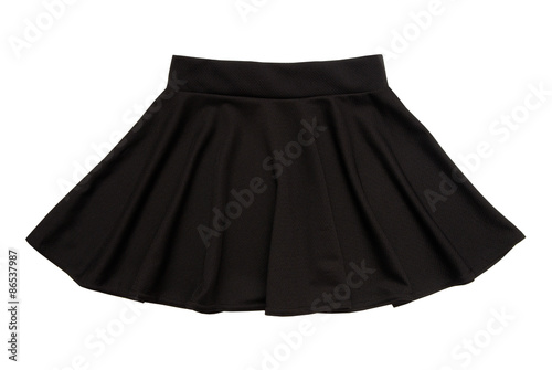 Fotografie, Obraz  black flared skirt