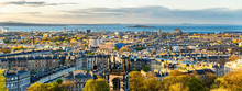 Panorama Of Edinburgh From Cal...