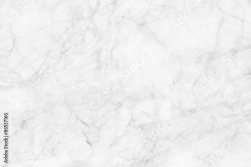 Tuinposter Stenen White marble texture, detailed structure of marble in natural patterned for background and design.