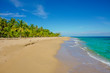 Caribbean beach of Costa Rica close to Puerto Viejo