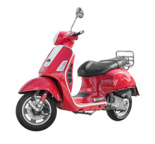 Modern Classic Scooter Isolated On White