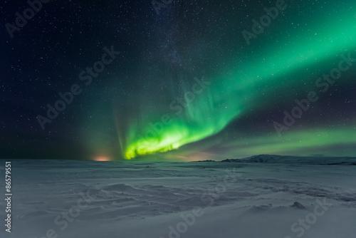 Fényképezés Aurora borealis, northern lights