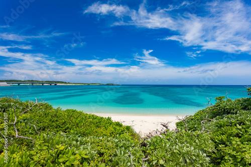 Fototapety, obrazy: 沖縄伊平屋島の海