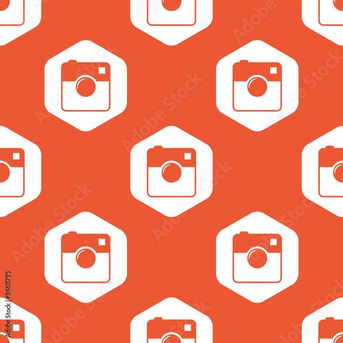 pomaranczowy-szesciokat-kwadratowy-wzor-kamery