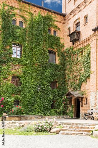 Aluminium Prints Tuscany Part of vintage castle