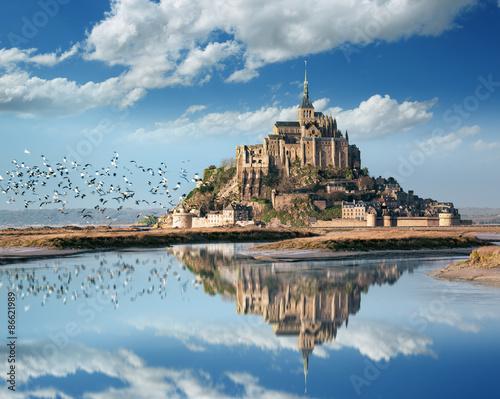 Le Mont Saint Michel Canvas