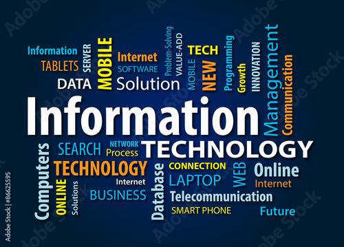Fotografie, Obraz  Information Technology
