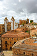 Panoramic view of the medieval city of Cáceres, Extremadura, Spain