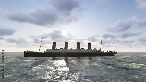 Photo Stands Ship A century has sailed by since the luxury steamship RMS Titanic met its catastrophic end in the North Atlantic