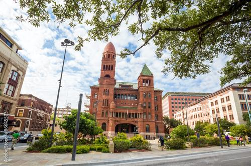 Aluminium Prints Texas Bexar County District Court in San Antonio