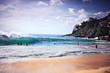 surf sea sand wave
