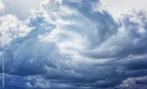 Fotografie, Obraz Clouds and Storm