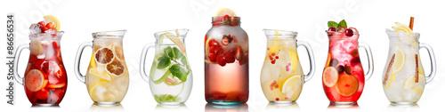 Fotografie, Obraz  Letní kolekce nápoje