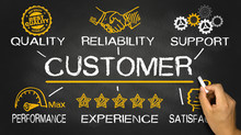 Customer Concept With Business...