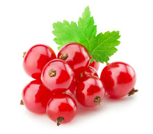 Red Currants Isolated On The W...