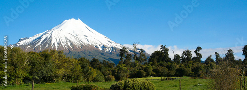 View of Mount Taranaki, NZ