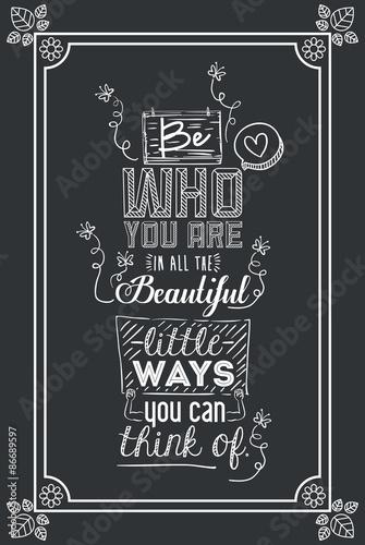 Photo  Encourage quotes design