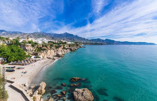 地中海のリゾート スペイン ネルハ