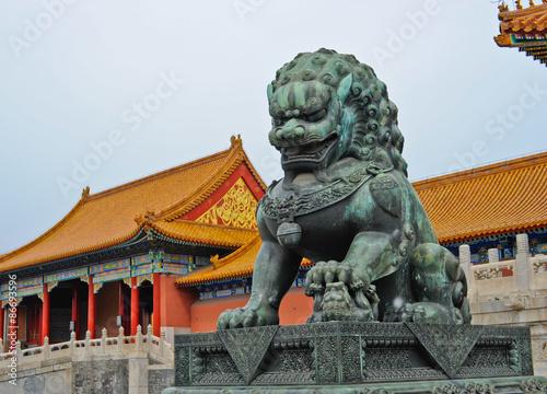 Foto op Aluminium Beijing Palace Beijing