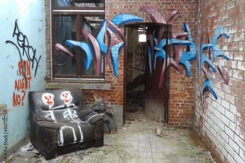 Maison abandonnée / Doel (Belgique) © Brad Pict