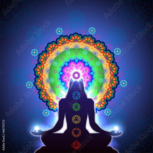Canvastavla  Chakra Meditation