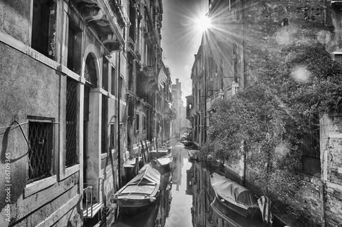 Photo Venezia in bianco e nero