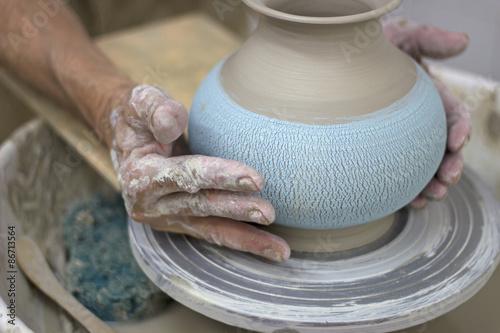 Fotografía  Alfarería. Traditional handmade ceramic pots