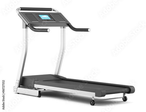Obraz na plátně treadmill isolated on white background