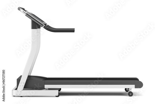 treadmill isolated on white background Fototapeta