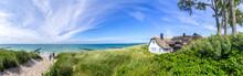 Ahrenshoop Küstenpanorama, Ostsee, Deutschland