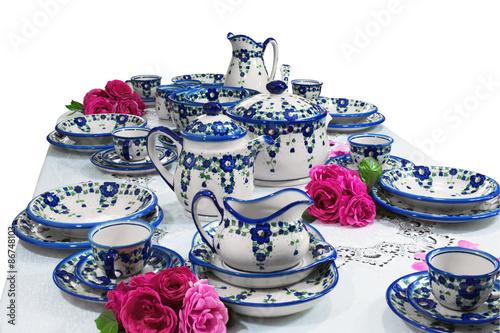 ceramika Bolesławiec, zestaw