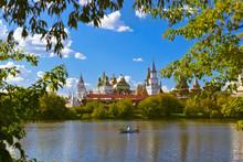Izmailovo Kremlin And Lake - M...