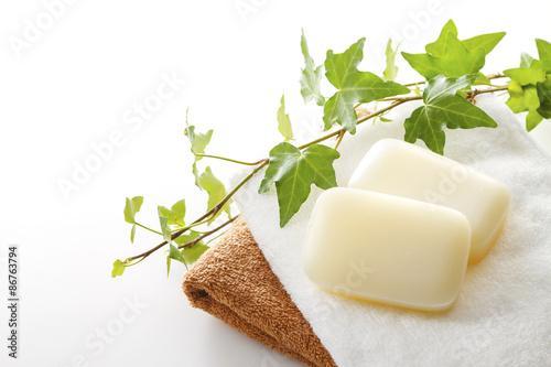 Fotografie, Obraz  石けん イメージ Soap bath image