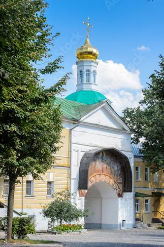 Foto op Plexiglas Cyprus Architecture of the Trinity Sergius Lavra in Sergiyev Posad, Moscow District, Russia.