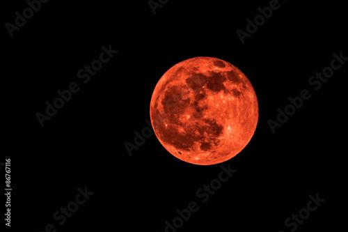 Canvastavla Luna Rossa
