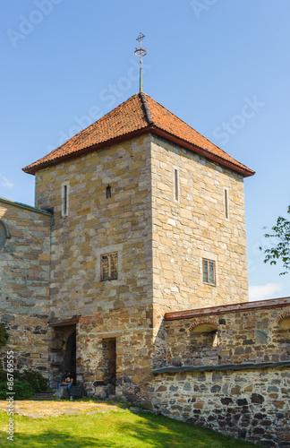 Akershus Castle Tower, Oslo,  Norway. Poster