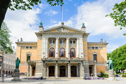 National theater, Oslo, Norway Poster