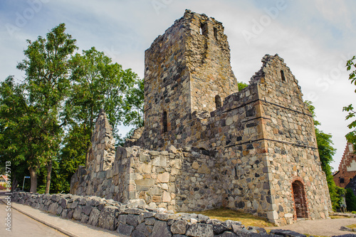 Photo  Church of Saint Olof in Sigtuna, Sweden