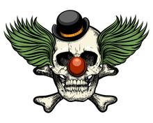 Clown Skull