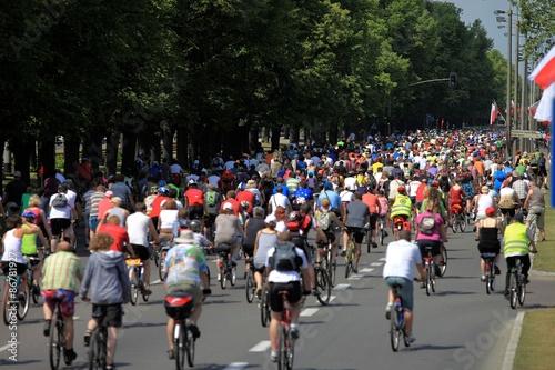 Foto op Aluminium Wielki przejazd rowerowy